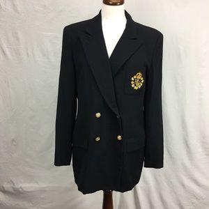 Lauren Ralph Lauren Black Academy Blazer